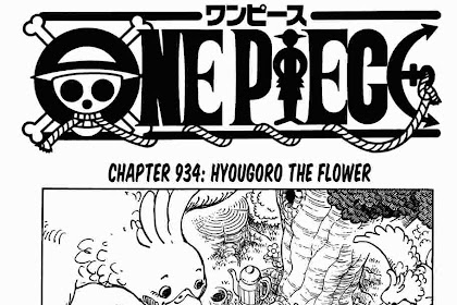 """Cover Page Request One Piece Chapter 934: Nama Pena """"Noda Skywalker"""" Kembali Muncul!"""