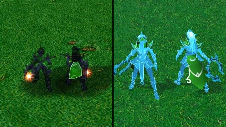 """night elf 10 - Chiêm ngưỡng """"bộ cánh"""" mới của các hero phe Night Elf trong Reforged"""