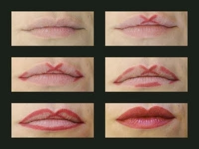 How to get an even Cupid's bow shape with your lipliner!