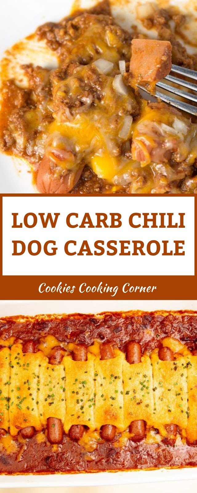 LOW CARB CHILI DOG CASSEROLE