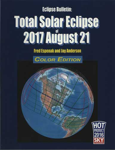 Good reference book for the upcoming solar eclipses  Total Solar Eclipse of 2017 August 21 by Fred Espenak and Jay Anderson