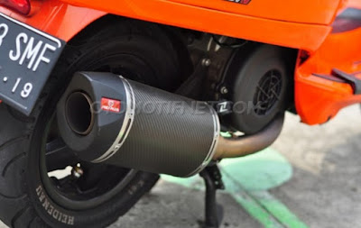 Foto Modifikasi Vespa S 150 3v 2014 Racing