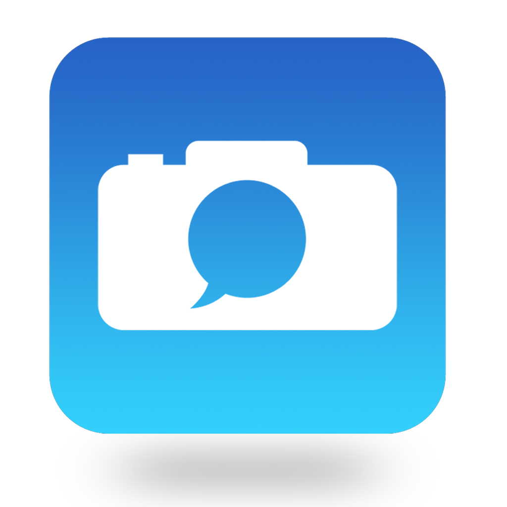 Chat with Camera App Icon