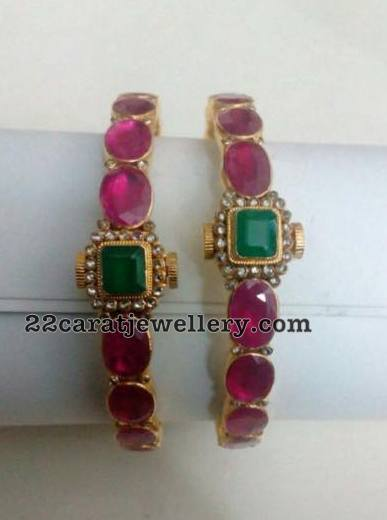 Spectacular Ruby Bangles