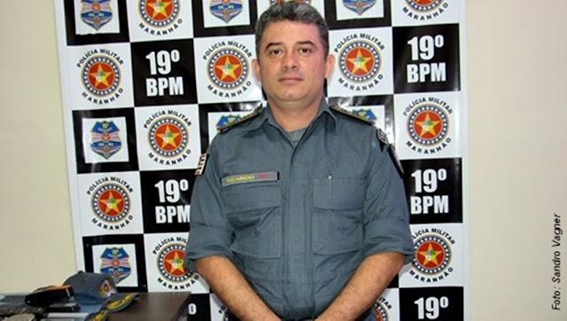 Resultado de imagem para Comandante do 19º BPM (Pedreiras-MA).