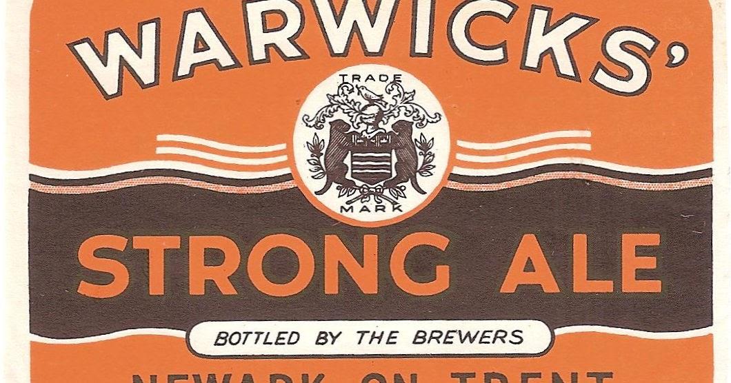 Warwicks & Richardsons beers in 1910