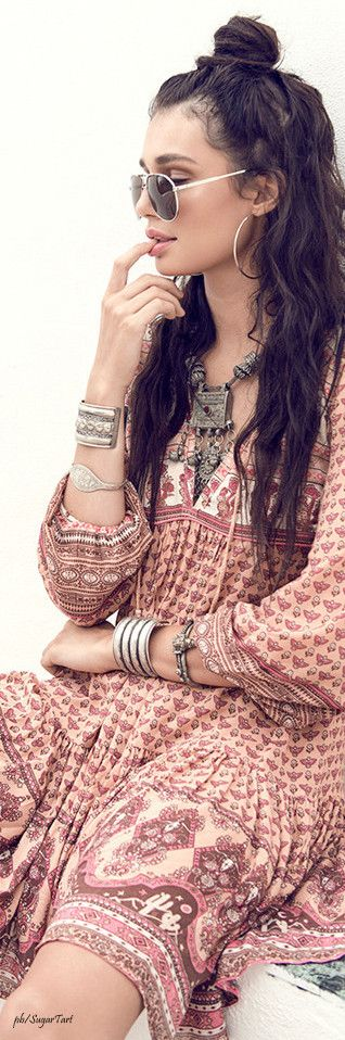 40 Beautiful Boho Fashion Dresses You Must Try On