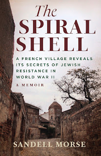 book cover of The Spiral Shell by Sandell Morse