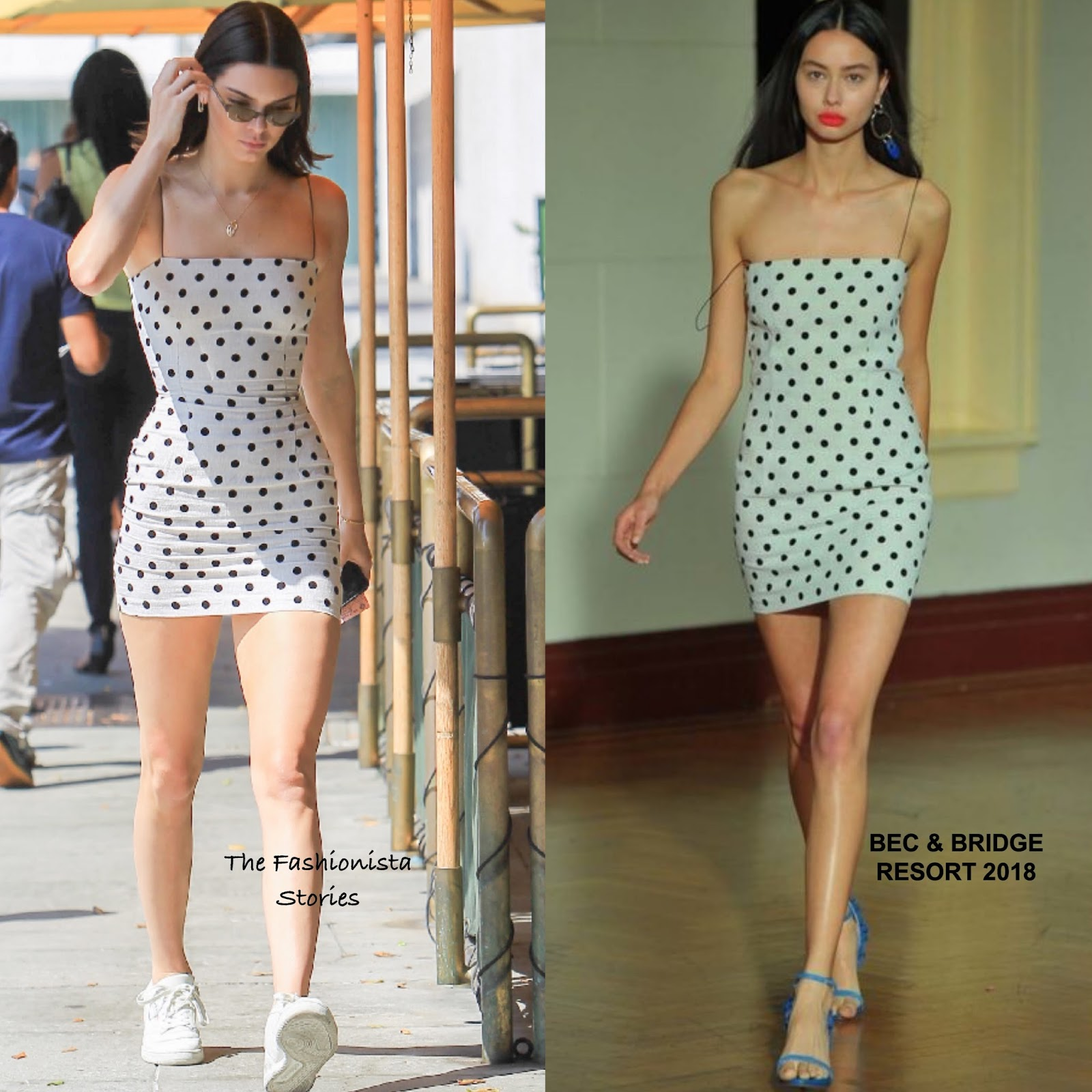 Kendall Jenner In Bec Bridge Out Beverly Hills