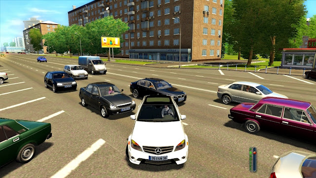 تحميل لعبة city car driving 2.2 7 مع الكراك