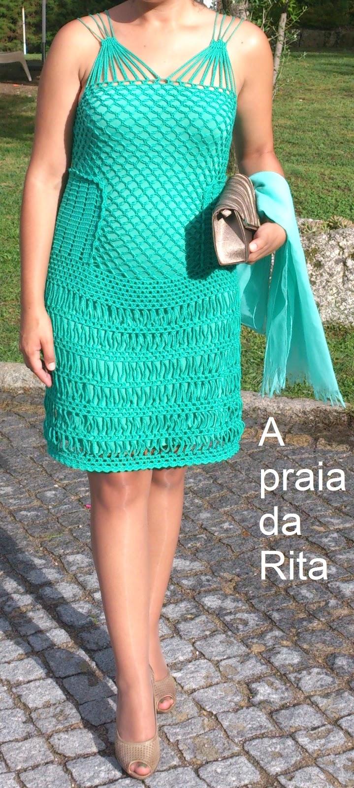 O meu vestido e verde