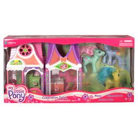 My Little Pony Minty Playsets Celebration Salon Bonus G3 Pony