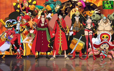Gambar Wallpaper One Piece HD Crew Mugiwara