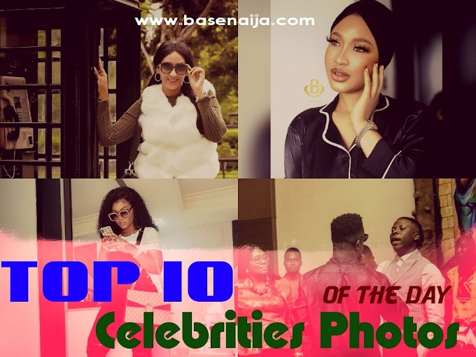 Top 10 Nigerian Celebrities Photos You Would Regret Stopping By To See