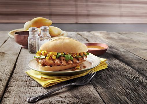 nandos angry mango burger meal