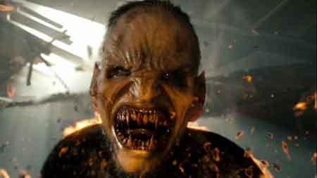 Colin Farrell en una transformación vampírica