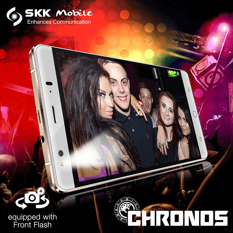 SKK Chronos selfie flash