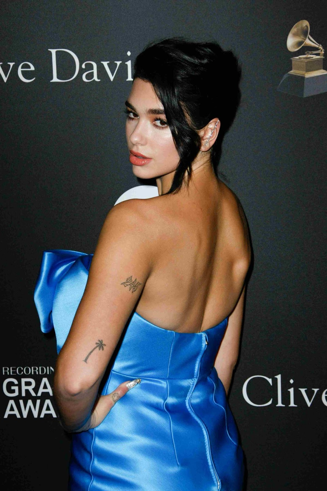 Dua Lipa smoulders at the Clive Davis 2019 Pre-Grammy Gala