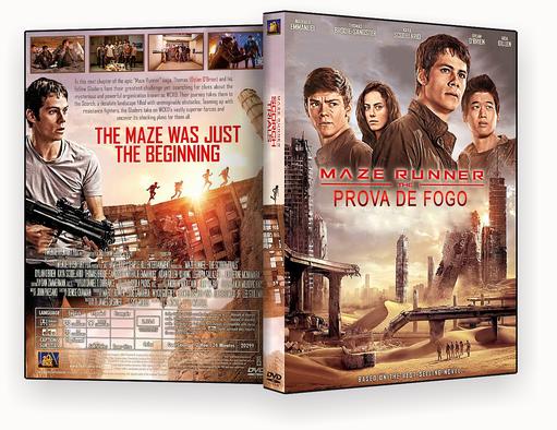 CAPA – Maze Runner Prova De Fogo 2015 DVD-R