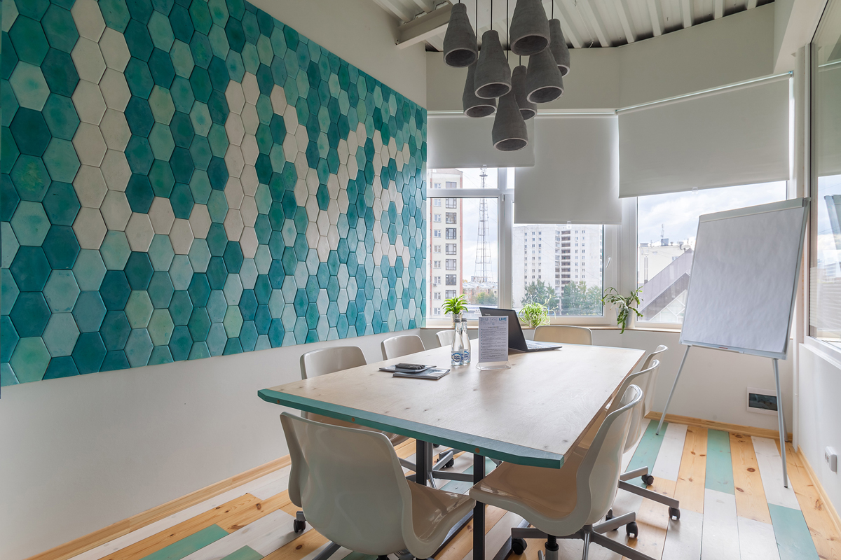 дизайн Коворкинг Live центр дизайн офиса аренда Екатеринбург Dulisov design студия дизайн интерьер coworking interior