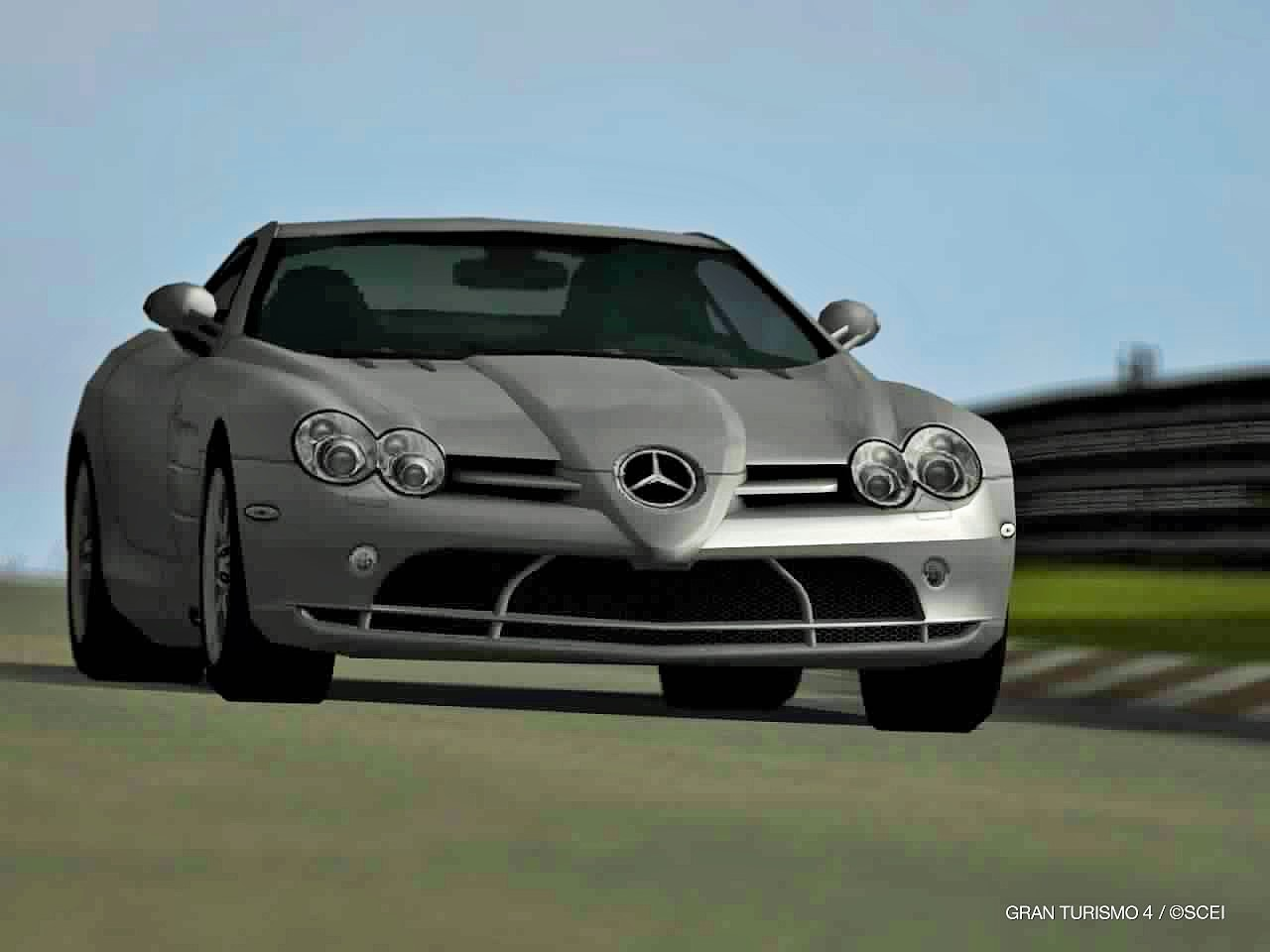 Todayu0027s Pictures Are Of The GT4 2003 Mercedes Benz SLR McLaren.