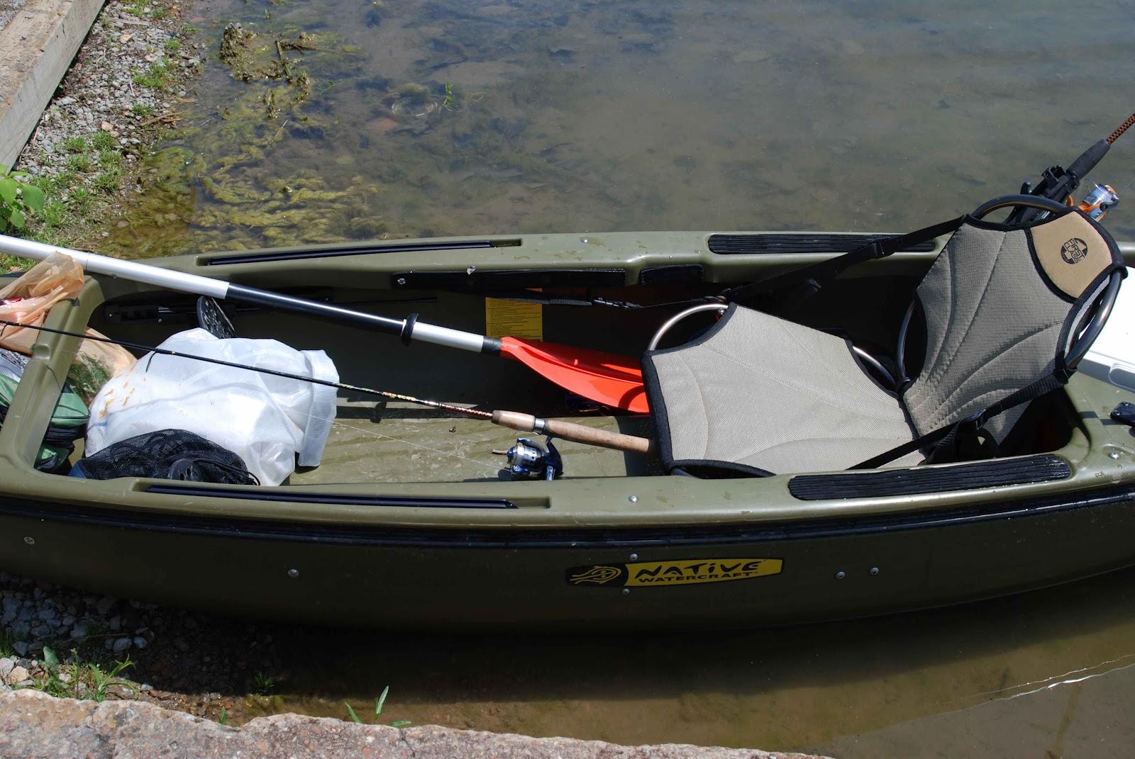 Larry Chair Kayak Booster Seat Asda Old Field Studio Fisherman Goes Native