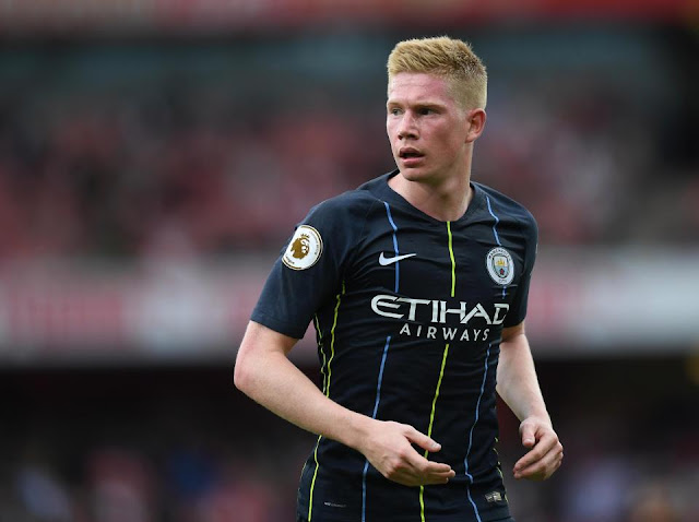 De Bruyne faces three-month injury lay-off