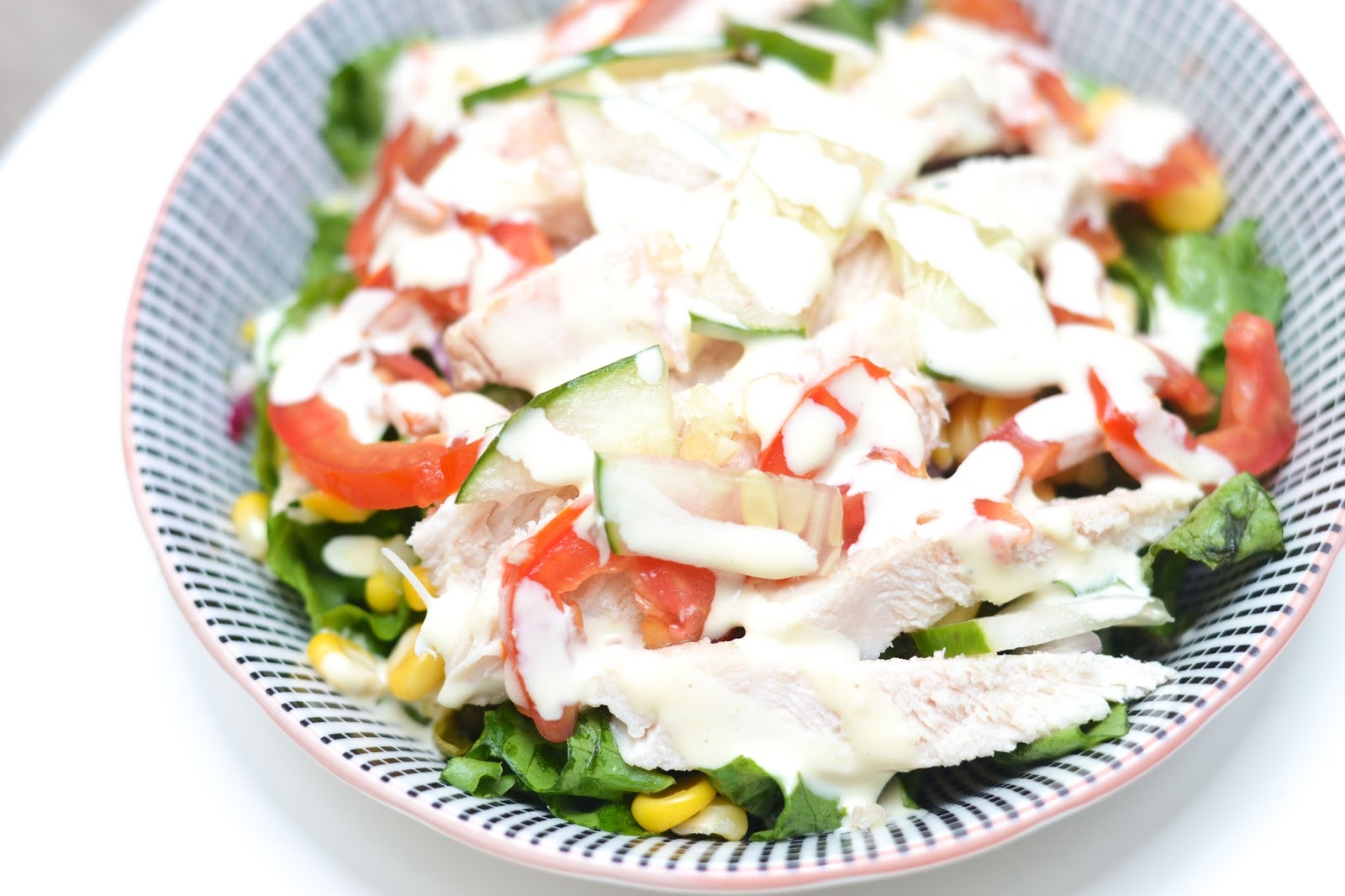 Chicken Corn Salad in Nigeria