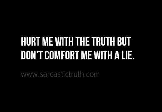 Lies Quotes For Facebook Whatsapp Status Sarcastic Truth