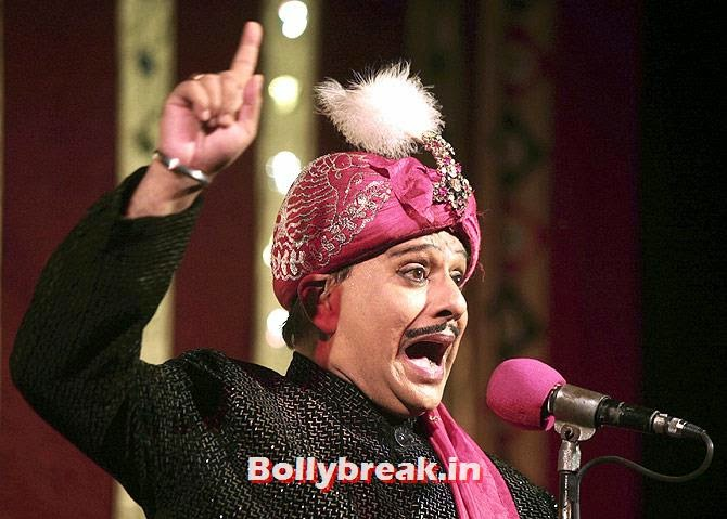 Magician P C Sorcar Junior performs during a magic show in Kolkata, Sports & Bollywood celebrities Standing in Lok Sabha Elections 2014