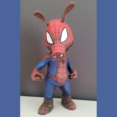 Marvel Spider-Ham Paper Model