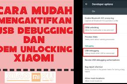 Cara Mudah Mengaktifkan USB Debugging dan OEM Unlocking Xiaomi