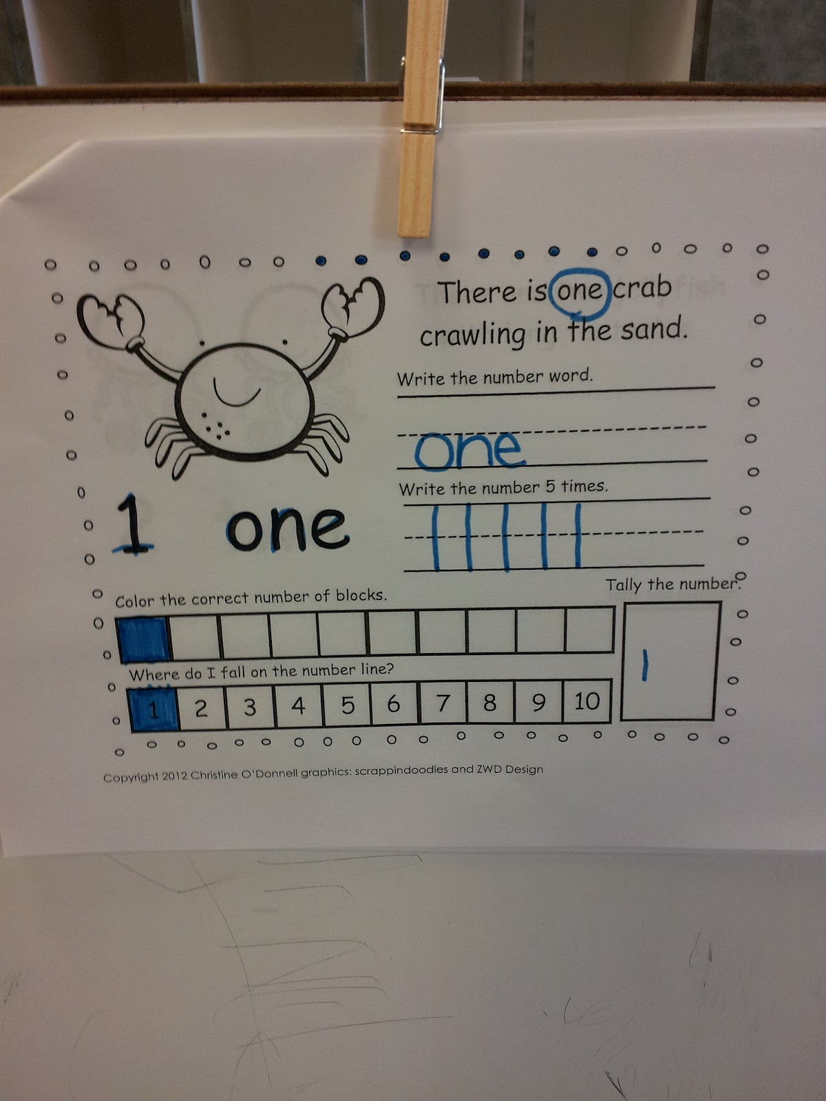 The Crazy Pre K Classroom Numbers Sentence Building And
