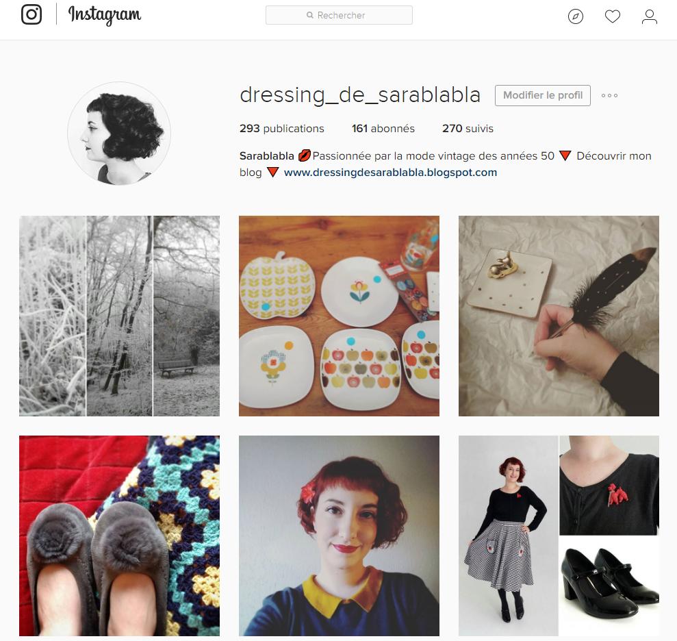 dressing de sarablabla instagram