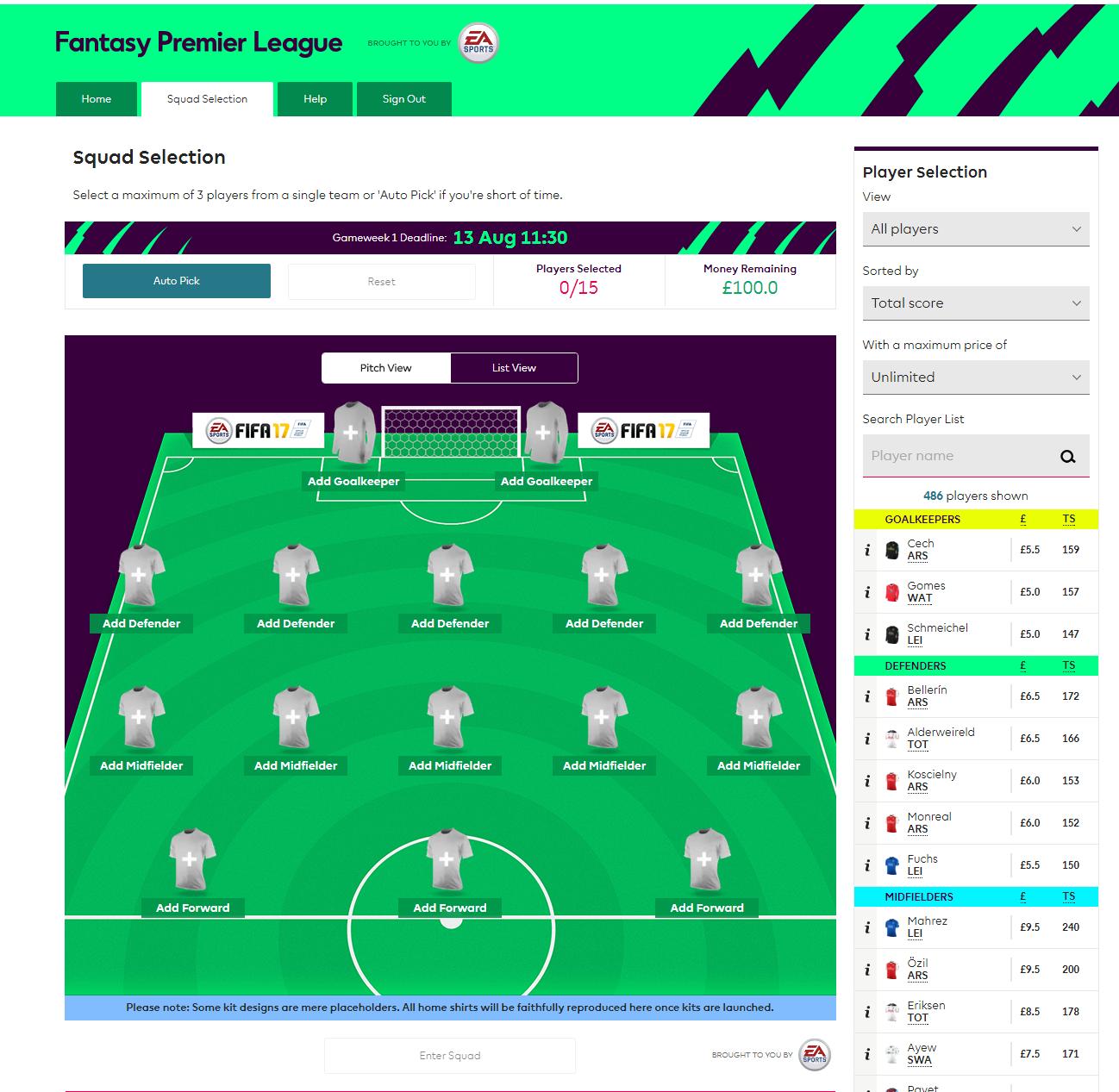 Cara Mendaftar Fantasy Premier League - Liverpool Indonesia Fans Club - LIFC