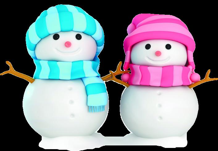 Muñecos y adornos de navidad