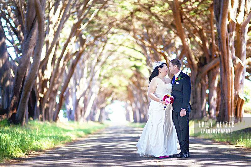 Blackthorn Inn Treehouse Wedding On Tomales Bay In Point Reyes