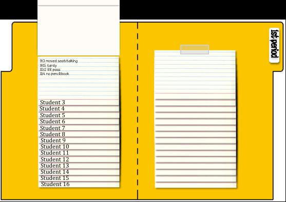 Math By Tori Flip Chart Observation File Folder