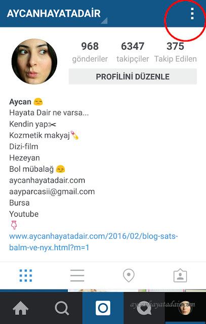 instagram çoklu hesap