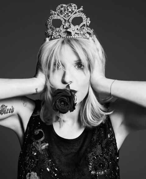 Courtney Love by Paola Kudacki for Garage Magazine No.5