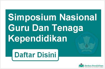 Daftar Simposium Nasional Guru Dan Tenaga Kependidikan PDF