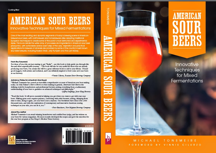 The final cover for American Sour Beers!