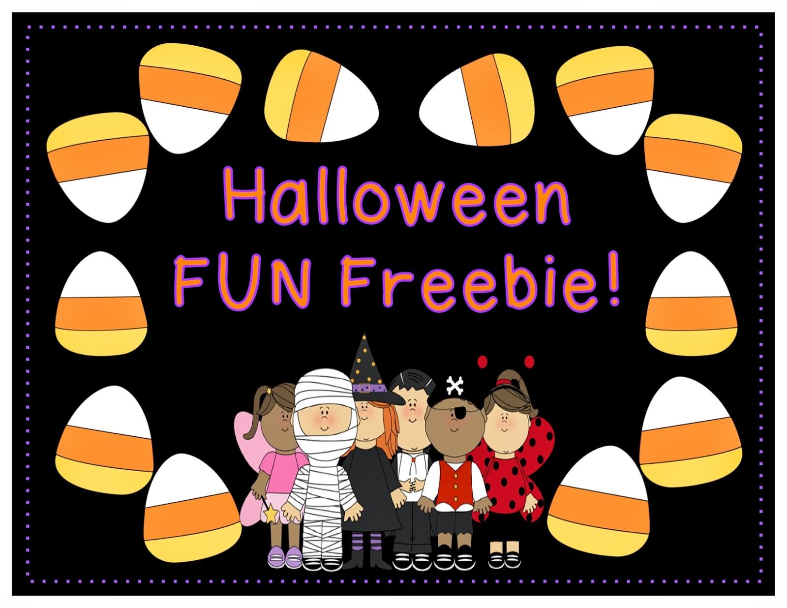 Halloween Fun FREEBIE!!