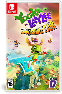 Yooka Laylee And The Impossible Lair Game Cover Nintendo Switch