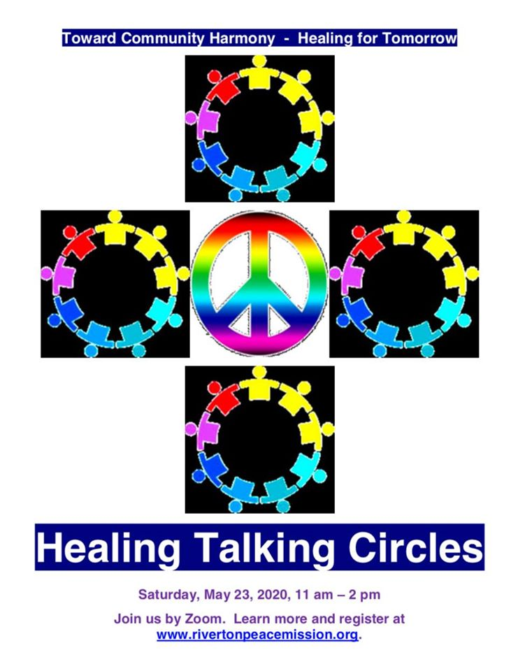 Towards Community Harmony: Healing Talking Circle - Sat May 23