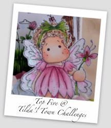 Top 5 winner at Tilda's Town challenges