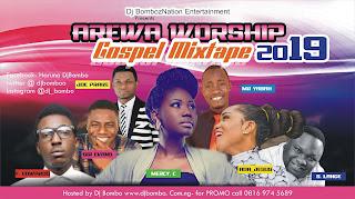 Worship ; Arewa Gospel Mixtape by DJ Bombo