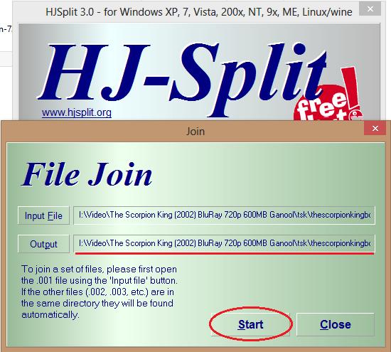 Cara Menggabungkan Beberapa File Part Dengan HJSplit