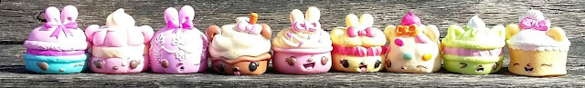 Num Noms Series 4 and Num Noms Lights Series 2.1 - Review Sweets Sampler