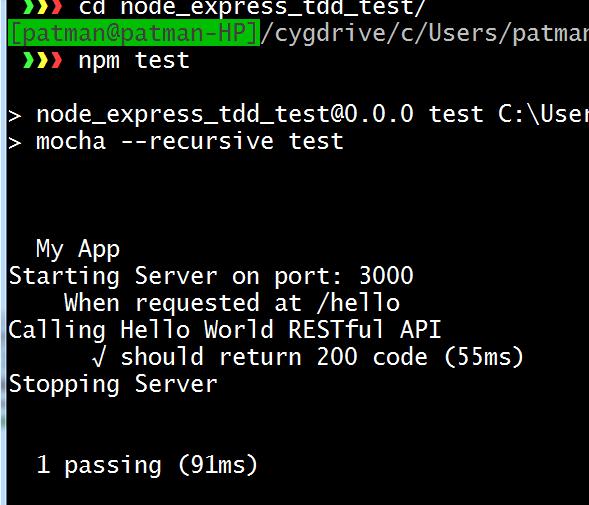 WhiteBoard Coder: Node Express TDD with RESTful API in Intellij